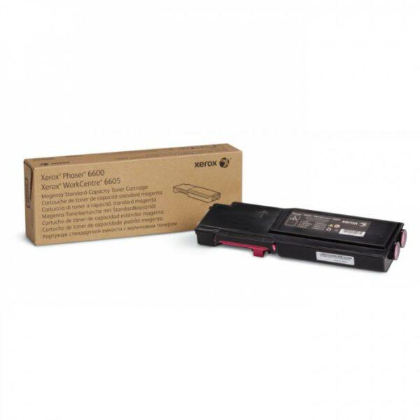 "Toner Original Xerox Magenta, 106R02250, pentru Ph 6600DN|Ph 6600N|WC 6605DN|WC 6605N, 2K, incl.TV 0.55RON, ""106R02250"""