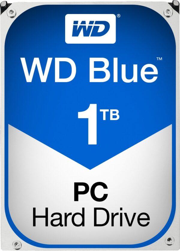 """HDD WD 1 TB, Blue, 7.200 rpm, buffer 64 MB, pt. desktop PC, """"WD10EZEX"""""""