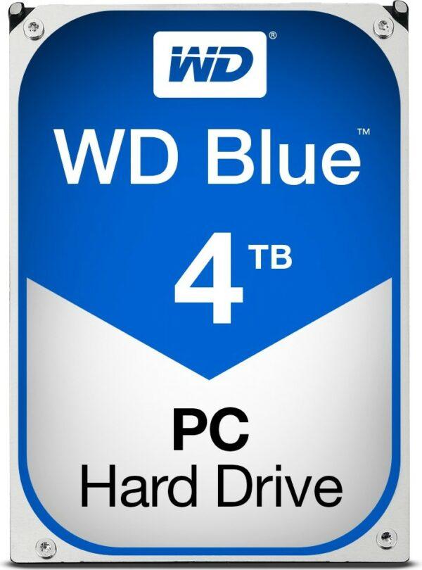 """HDD WD 4 TB, Blue, 5.400 rpm, buffer 64 MB, pt. desktop PC, """"WD40EZRZ"""""""