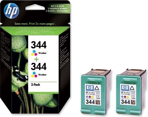 "Dual-Pack Original HP Color, nr.344, pentru DJ460C|5740|574x|65xx|PSC1600|1610|2350|2610, , incl.TV 0.11RON, ""C9505EE"""