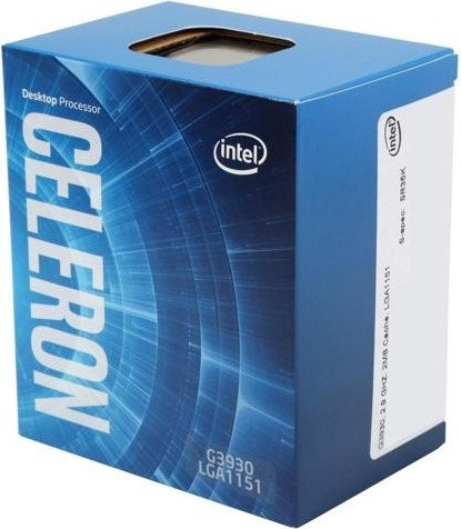 "CPU INTEL, skt. LGA 1151 Intel Celeron, G3930, frecventa 2.9 GHz, turbo 2.9 GHz, 2 nuclee, putere 51 W, cooler, ""BX80677G3930"" (include TV 0.15 lei)"