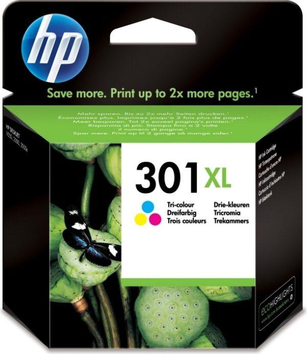 "Cartus Cerneala Original HP Color, nr.301XL, pentru DJ1000|1050|1055|2050|3050, , incl.TV 0.11 RON, ""CH564EE"""