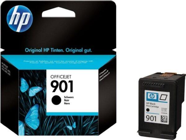 "Cartus Cerneala Original HP Black, nr.901, pentru OfficeJet 4500|J4524|4580|4624|4640|4660|4680, , incl.TV 0.11 RON, ""CC653AE"""