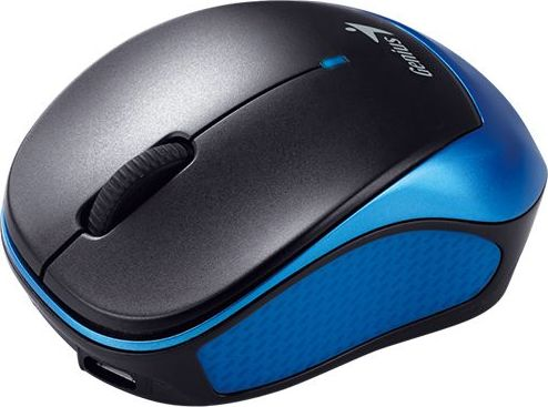 "MOUSE Genius, ""Micro Traveler 9000R"", PC sau NB, wireless, 2.4GHz, infrarosu, 1200 dpi, butoane/scroll 3/1, , gri, ""31030132101"" (include TV 0.15 lei)"