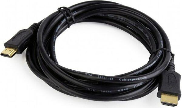 """CABLU video GEMBIRD, HDMI (T) la HDMI (T), 1.8m, conectori auriti, rezolutie maxima 4K (3840 x 2160) la 60 Hz, negru, """"CC-HDMI4L-6"""" 73162 (include TV 0.06 lei)"""