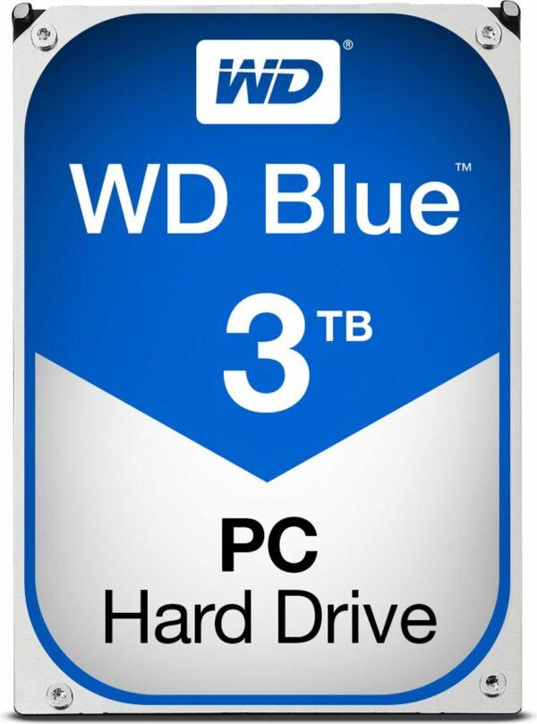 """HDD WD 3 TB, Blue, 5.400 rpm, buffer 64 MB, pt. desktop PC, """"WD30EZRZ"""""""
