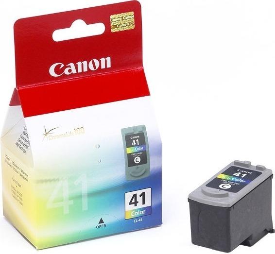 """Cartus Cerneala Original Canon Color, CL-41, pentru Pixma IP1200 IP1300 IP1600 IP1700 IP1800 IP1900 IP2200 IP2500 IP2600 MP140 MP150 MP160 MP170 MP180 MP190 MP210 MP220 MP450, 12ml, incl.TV 0.11 RON, """"BS0617B001AA"""""""