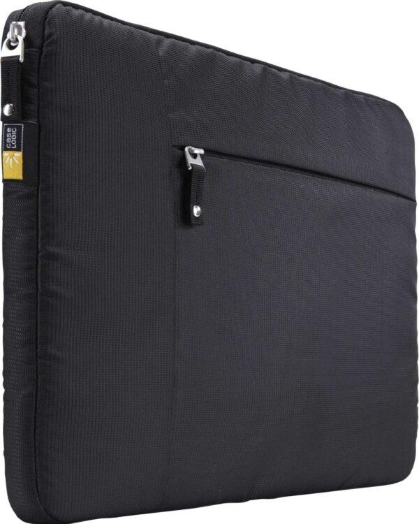"HUSA CASE LOGIC notebook 15″, nylon, 1 compartiment, buzunar frontal pt. tableta, black, ""TS115″/3201748"