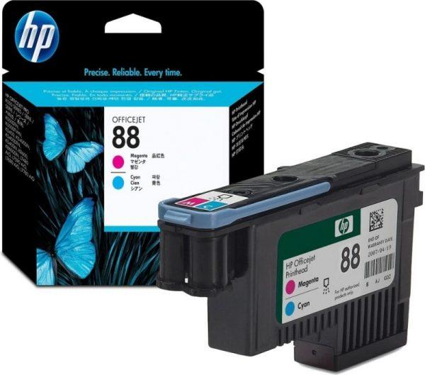 "Cap Printare Original HP Magenta/Cyan, nr.88, pentru OfficeJet K5300 5400 550 L7xxx Pro K5300 54xx 550, , incl.TV 0.11 RON, ""C9382A"""