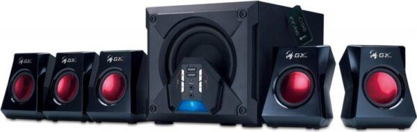 """BOXE GENIUS 5.1, RMS: 80W (5 x 10W + 1 x 30W), gaming, telecomanda wireless, black, """"SW-G5.1 3500"""" """"31731017100"""" (include TV 8 lei)"""