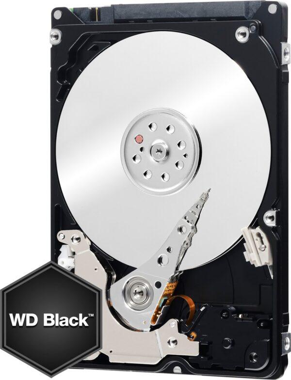 """HDD notebook WD 500 GB, Black, 7200 rpm, buffer 32 MB, 6 Gb/s, S-ATA 3, """"WD5000LPLX"""""""