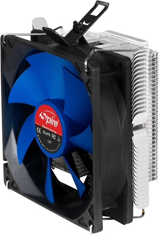 "COOLER SPIRE CPU universal, soc LGA1156/1155/775 & AM3/AM2/FM1, fan 90x25mm, 95W ""SP543S1-PWM"""