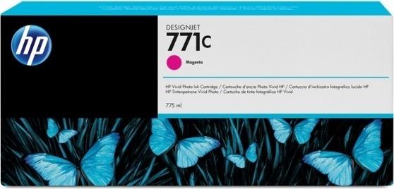 """Cartus Cerneala Original HP Magenta, nr.771C, pentru DesignJet Z6200, , incl.TV 0.11 RON, """"B6Y09A"""""""