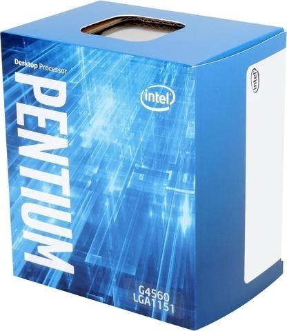 "CPU INTEL, skt. LGA 1151 Intel Pentium, G4560, frecventa 3.5 GHz, turbo 3.5 GHz, 2 nuclee, putere 54 W, cooler, ""BX80677G4560"""