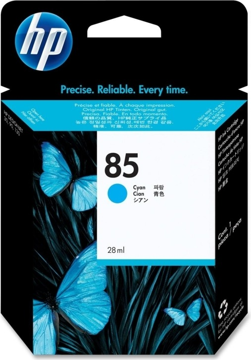 "Cartus Cerneala Original HP Cyan, nr.85, pentru DesignJet 130|30|90, , incl.TV 0.11RON, ""C9425A"""