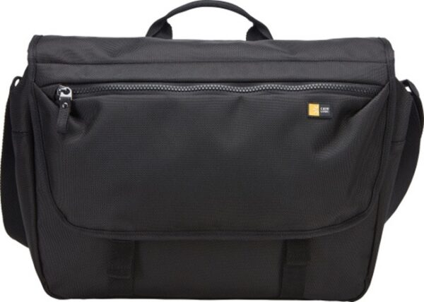 "GEANTA CASE LOGIC, pt. notebook de max. 14 inch, 1 compartiment, buzunar frontal x 2, waterproof, poliester, negru, ""BRYM-114 BLACK"""