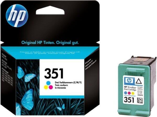 "Cartus Cerneala Original HP Color, nr.351, pentru DJ D4260|4360|J5730|5780|6480|PS C4205|4272|4280|4480|5280, , incl.TV 0.11 RON, ""CB337EE"""
