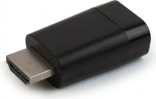 """ADAPTOR video GEMBIRD, HDMI (T) la VGA (M), rezolutie maxima Full HD (1920 x 1080) la 60Hz, black, """"A-HDMI-VGA-001"""" (include TV 0.06 lei)"""