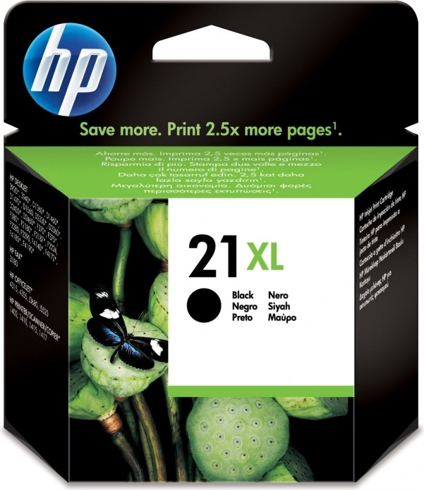 "Cartus Cerneala Original HP Black, nr.21XL, pentru DJ3920 3940 D1360 1560 F380 43xx 5610 PSC1402 1410, , incl.TV 0.11 RON, ""C9351CE"""