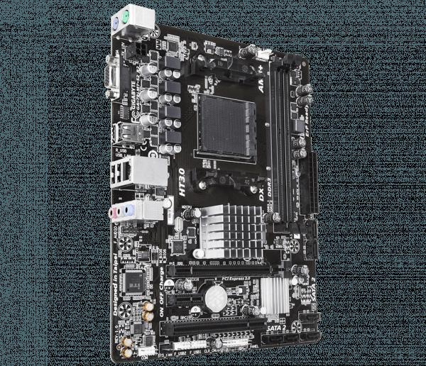 Placa de baza GIGABYTE skt. AM3+, 78LMT-S2 R2, AMD 760G, 2* DDR3 1333 (OC)/1066, VGA, 1*PCIEx16/ 1*PCIEx1/ 1*PCI, 6*SATA2 (RAID), 8*USB2.0 (4 on back panel – 4 internal), Gigabit LAN, 10/100/1000, mATX