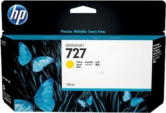 "Cartus Cerneala Original HP Yellow, nr.727, pentru DesignJet T1500|T1530|T2500|T2530|T920, 130ml, incl.TV 0.11 RON, ""B3P21A"""