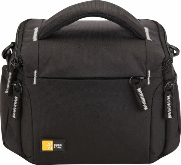 "GEANTA pt. camera compacta, CASE LOGIC, buzunar frontal | buzunar intern | buzunar lateral x 2, curea detasabila, negru, ""TBC-405K""/3201475"