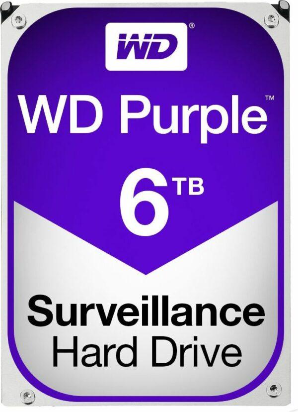 """HDD WD 6 TB, Purple, 5.400 rpm, buffer 64 MB, pt. supraveghere, """"WD60PURZ"""""""