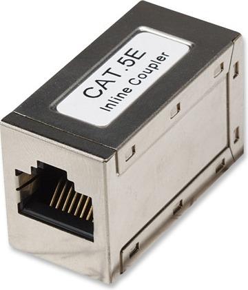 "CUPLA RJ-45 INTELLINET pt. cablu FTP, Cat5e, RJ-45 (M) x 2, ecranat, metal, 1 buc, ""504768"""