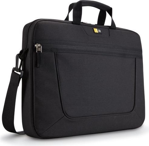 "GEANTA CASE LOGIC, pt. notebook de max. 15.6 inch, 1 compartiment, buzunar frontal, waterproof, poliester, negru, ""VNAI-215 BLACK"""