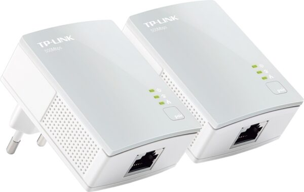 "KIT ADAPTOR POWERLINE TP-LINK tehnologie AV, AV600, pana la 600Mbps, 1 port 10/100Mbps, 2 buc. ""TL-PA4010KIT"""