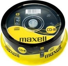 "CD-R MAXELL 700MB, 80min, viteza 52x, 10 buc, spindle, ""CD-R-700MB-52X-SHR10-MXL"""
