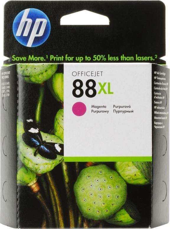 "Cartus Cerneala Original HP Magenta, nr.88, pentru OfficeJet K5300 5400 550 L7xxx Pro K5300 5400 550, , incl.TV 0.11RON, ""C9392AE"""