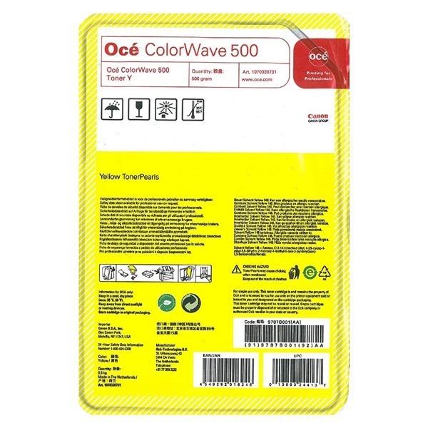 "Toner Original OCE Yellow, 9787B001, pentru COLORWAVE 500, , incl.TV 0RON, ""9787B001"""