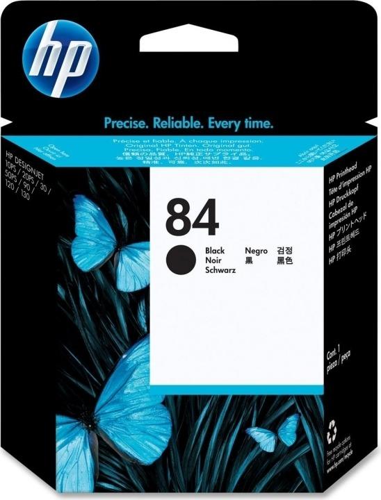 "Cap Printare Original HP Black, nr.84, pentru DesignJet 10|120|130|20|30, , incl.TV 0.11RON, ""C5019A"""
