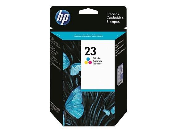 "Cartus Cerneala Original HP Color, nr.23D, pentru DJ720|890|1120, , incl.TV 0.11 RON, ""C1823D"""