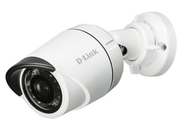 "CAMERA IP D-Link, bu60et, pt. interior   exterior, dist. IR 20 m, tip lentila fixa 3.6 mm, 3 Mpx, cu fir, microfon nu, PoE da, carcasa metal, slot SD card nu, ""DCS-4703E"""