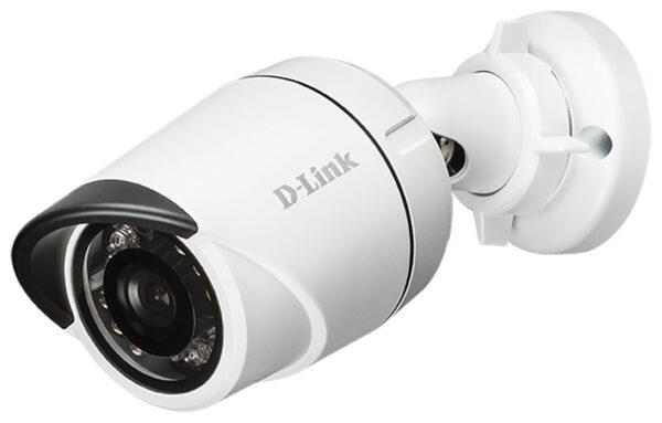 "CAMERA IP D-Link, bu60et, pt. exterior, dist. IR 30 m, tip lentila fixa 3.6 mm, 2 Mpx, cu fir, microfon nu, PoE da, carcasa metal, slot SD card nu, ""DCS-4701E"""