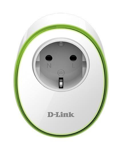 """PRIZA inteligenta D-LINK, Schuko x 1, conectare prin Schuko (T), 16 A, programare prin smartphone, Wi-Fi, alb, """"DSP-W115″/ 45506268"""