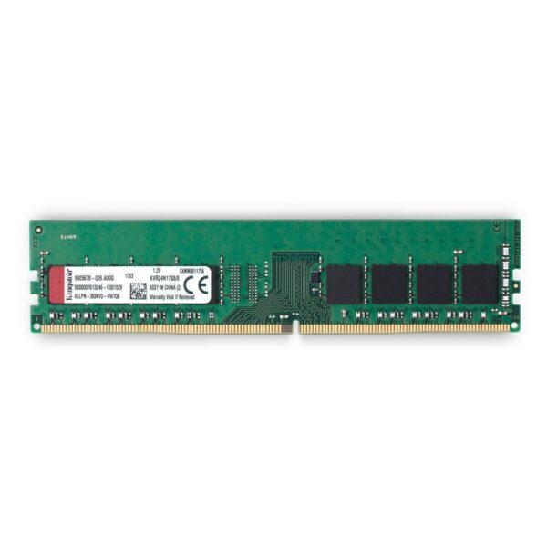 """Memorii KINGSTON DDR4 8 GB, frecventa 2400 MHz, 1 modul, """"KVR24N17S8/8"""""""