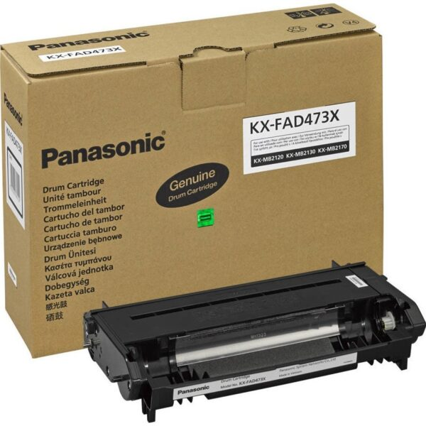 "Drum Unit Original Panasonic Black, FAD473X, pentru KX-MB21xx, 10K, incl.TV 0 RON, ""KX-FAD473X"""