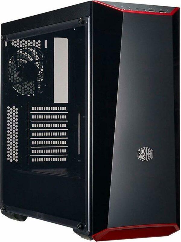 "CARCASA Cooler Master, Middle Tower, ATX, ""MasterBox Lite 5"", fara sursa, plexiglas transparent, 1 x fan, USB 3.0 x 2, Jack 3.5mm x 2, mesh , ""MCW-L5S3-KANN-01"""