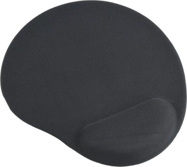"MousePAD GEMBIRD – gaming, cauciuc si gel, 240 x 220 x 4 mm, negru, ""MP-GEL-BK"""