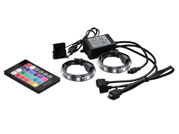 "LED strip DEEPCOOL, color light strip, RGB, 3 culori, telecomanda ""RGB350"""