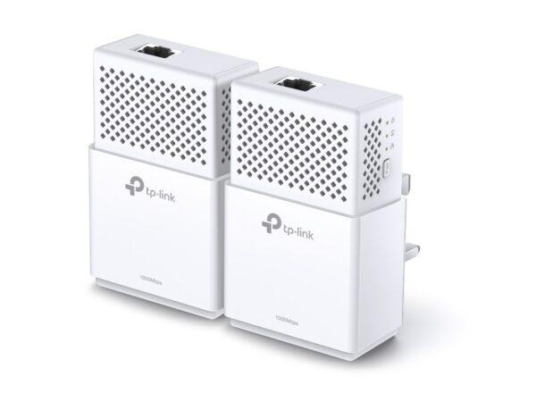 """KIT ADAPTOR POWERLINE TP-LINK tehnologie AV2, AV1000, pana la 1000Mbps, 1 port Gigabit, 2 buc. """"TL-PA7010KIT"""""""