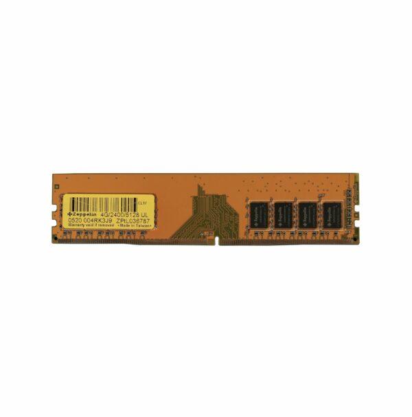 "Memorii ZEPPELIN DDR4 4 GB, frecventa 2400 MHz, 1 modul, ""ZE-DDR4-4G2400b"""