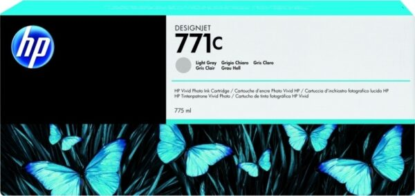 "Cartus Cerneala Original HP Ph Gray, nr.771C, pentru DesignJet Z6200, , incl.TV 0.11 RON, ""B6Y14A"""