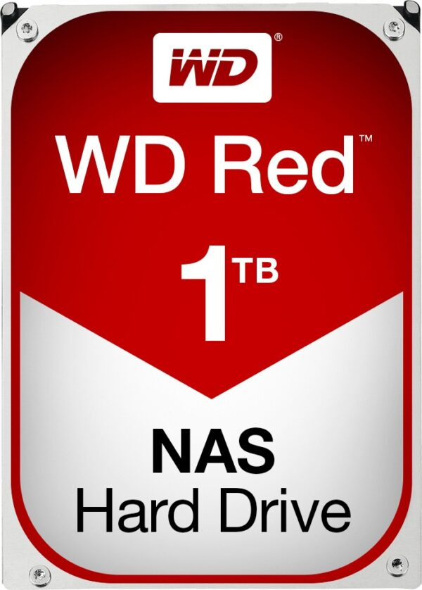 """HDD WD 1 TB, Red, 5.400 rpm, buffer 64 MB, pt. NAS, """"WD10EFRX"""""""