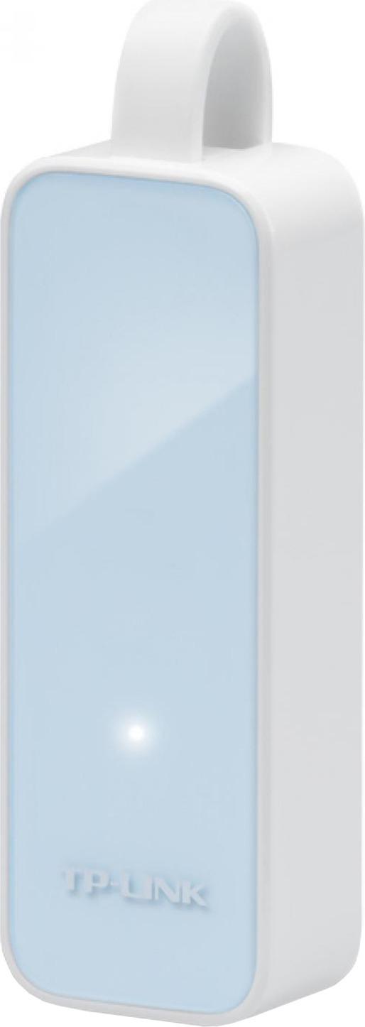 "ADAPTOR RETEA TP-LINK , extern, USB 2.0, port RJ-45, 100 Mbps, ""UE200"" (include TV 0.15 lei)"