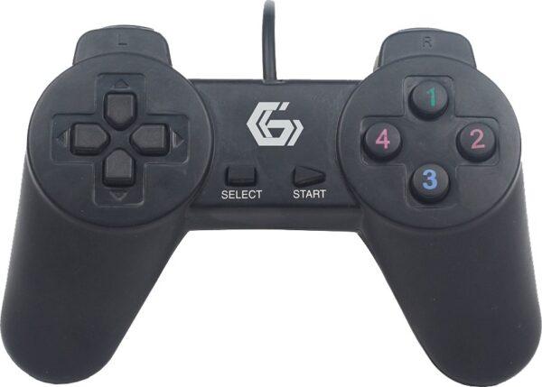 "GAMEPAD cu fir GEMBIRD, PC, USB, negru, ""JPD-UB-01"" (include TV 0.75 lei)"