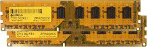 ZE-DDR3-4G1600-KIT